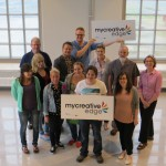 Project partners at MyCreativeEdge launch